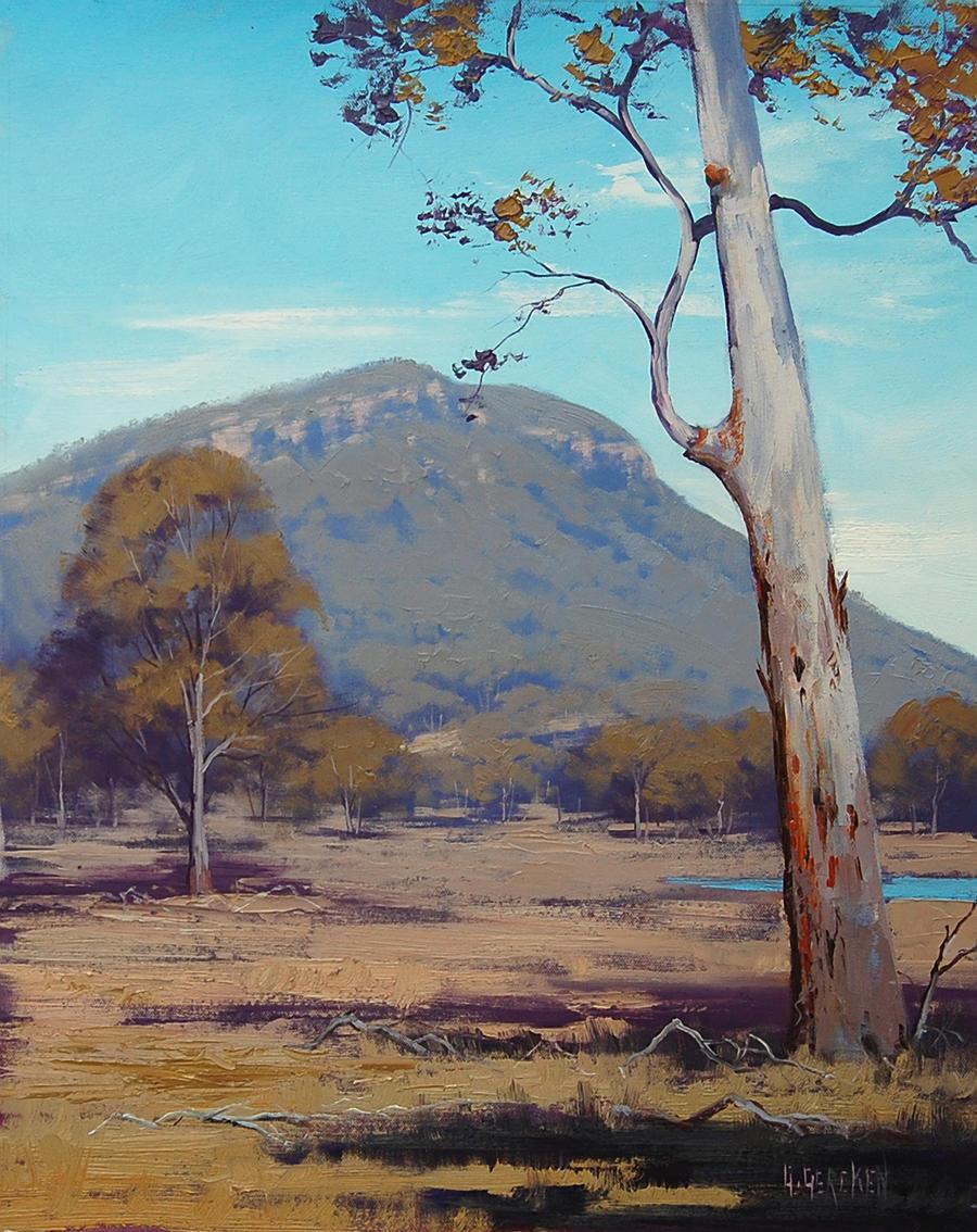 Australian summer landscape by artsaus on deviantart for Landscapers adelaide western suburbs