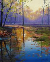 Evening Light by artsaus