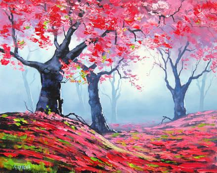 Blosson tree Landscape