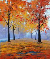 Vibrant Autumn Colors by artsaus