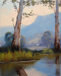 Valley Gums Australia by artsaus