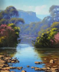 Megalong Creek by artsaus