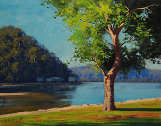Patonga creek by artsaus