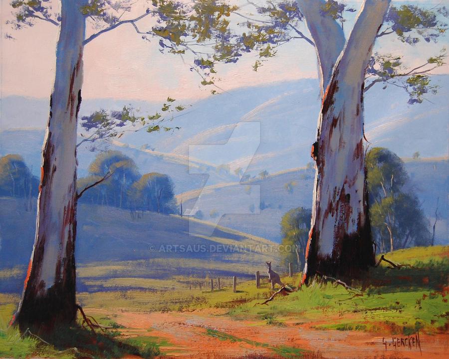australian trees australian gum trees by artsaus on deviantart