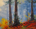 Forest Fall By Artsaus-d5dj56g