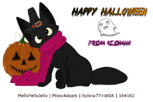 KeonahN Halloween Avatar by CloverHoofAcres