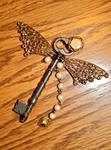 Steampunk Butterfly Key