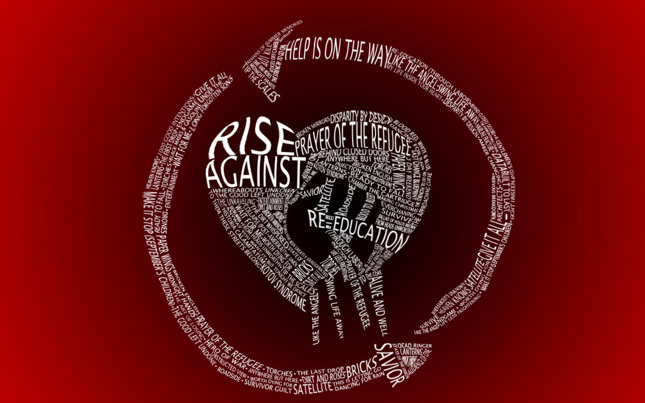 DeviantNightmare118 Rise Against Song Logo By