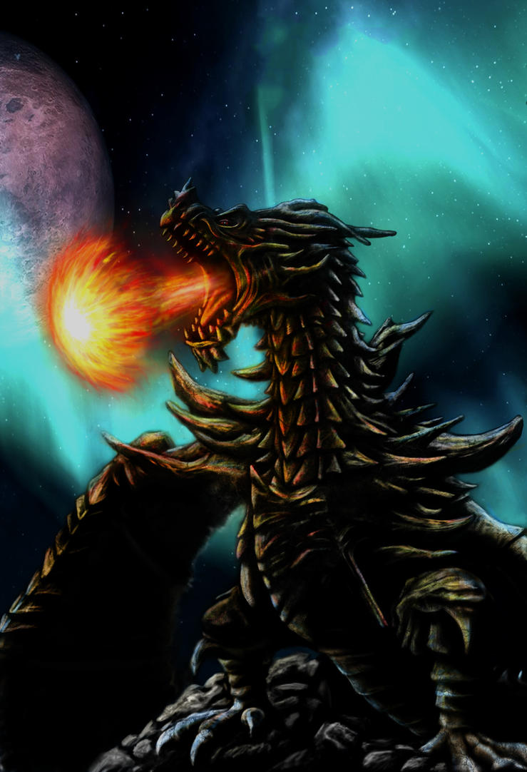 Alduin's wrath by scumpunx