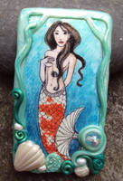 Little Mermaid Brooch by Phoenixartstudio