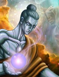 Cosmic Buddha by Antman2012