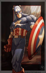 Captain America by spade92