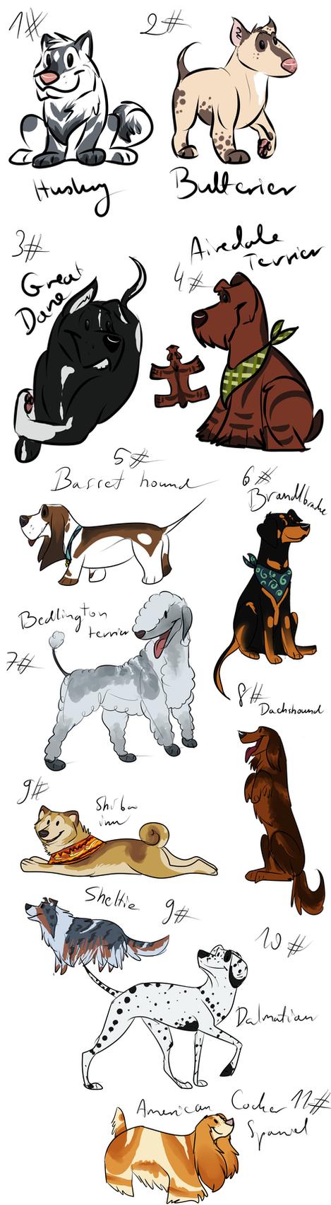 Dogs Adoptions by WierkaKita