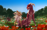 Redraw Pokemon by WierkaKita