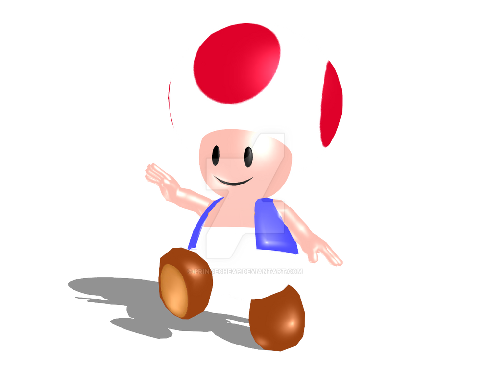 N64 Toad in HD by PrinceCheap on DeviantArt