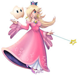 Rosalina and Luma: Pink is Love