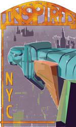 InspiredNYC Stickerbleed