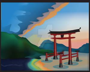 BURG Japan water 2