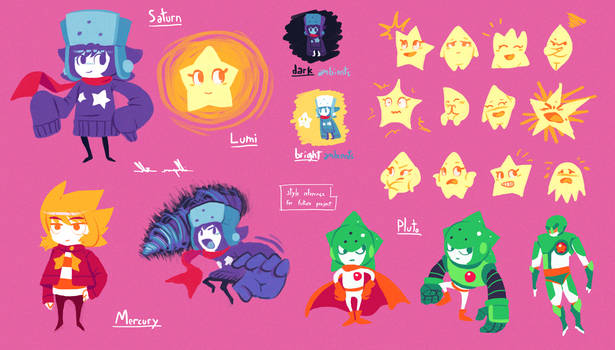 Saturn and Lumi style reference
