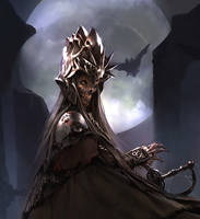Lich Detail: father's sword by Cryptcrawler