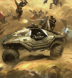 HALO 3: ODST Commission 1 by Cryptcrawler