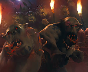 Warhammer LCG: Animosity by Cryptcrawler