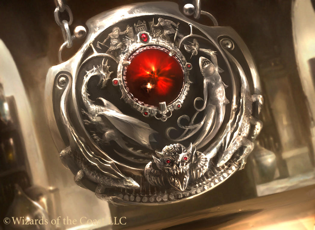 Mtg quicksilver amulet by cryptcrawler on deviantart
