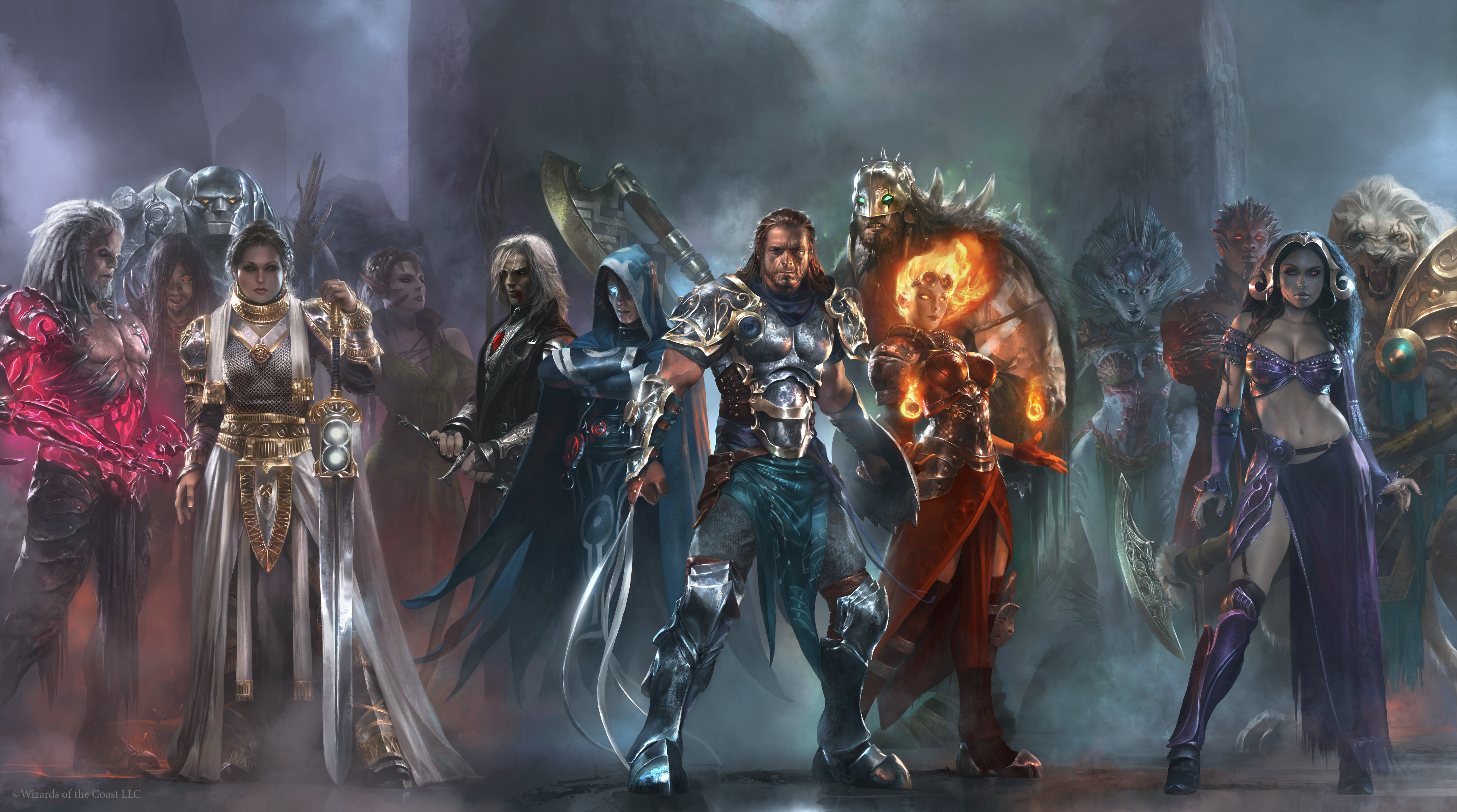 Planeswalkers Pantheon by Cryptcrawler