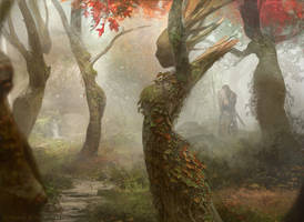 Magic the Gathering: Dryad Arbor