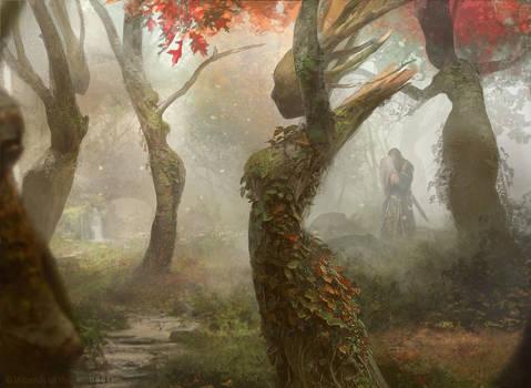 Magic the Gathering: Dryad Arbor