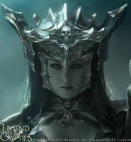 Dark Queen Guinevere (Advanced) Portrait by Cryptcrawler