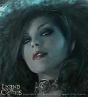 Dark Queen Guinevere Portrait by Cryptcrawler