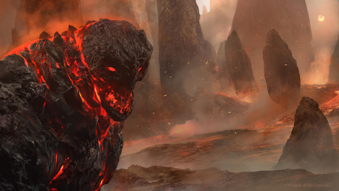 duels of the planeswalkers 2014 lava mage by cryptcrawler on