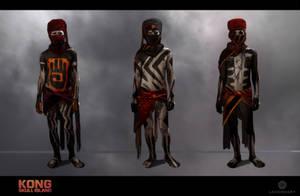 Kong Skull Island: Villager Concept Sketch