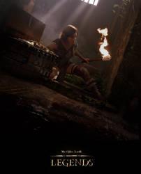 Elder Scrolls Legends: Ratway Prospector by Cryptcrawler