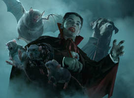 Mystic The Togethering: Drac by Cryptcrawler