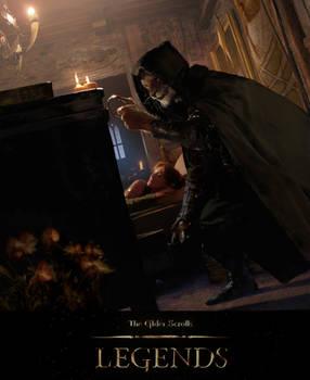 Elder Scrolls Legends: Thief Of Dreams by Cryptcrawler