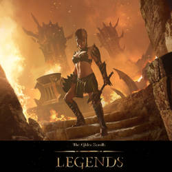 Elder Scrolls Legends: Mehrunes Dagon's Seducer.