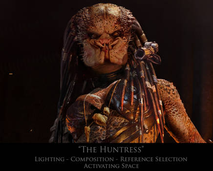 AVP Fan Art: The Huntress Process Video On Gumroad