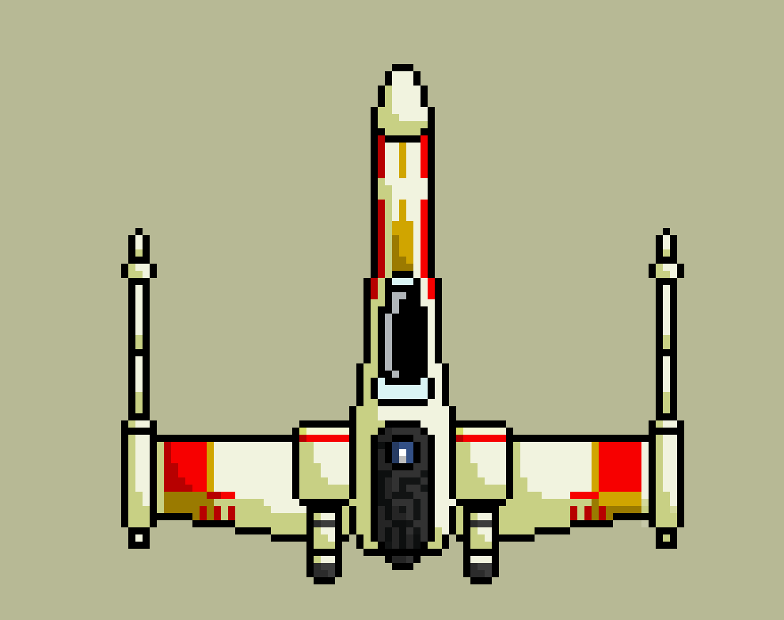 Star Wars T 64 X Wing By Lucake On Deviantart
