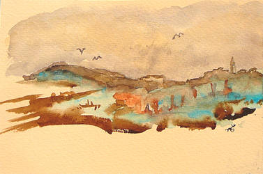 Paysage by ArmelleS