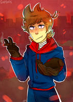 Tord (eddsworld) Redraw by SupDudee
