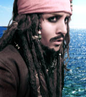 Captain Jack Sparrow by gender0less