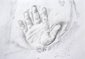 Sammies hand by DaanJor