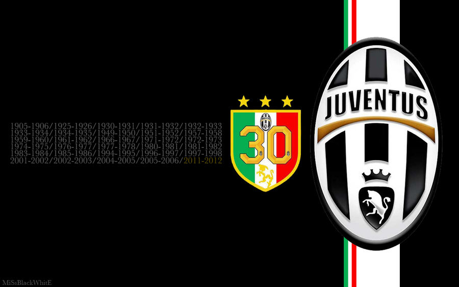 Wallpaper Juventus 30 2 By Missblackwhite On Deviantart