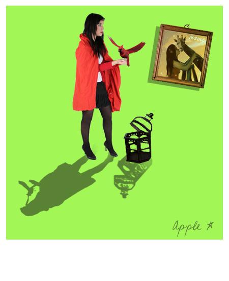 little stiupid girl. by AppleLady