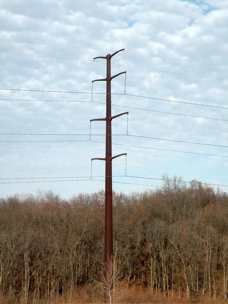 Iowa Transmission Tower 1 by thrikreed