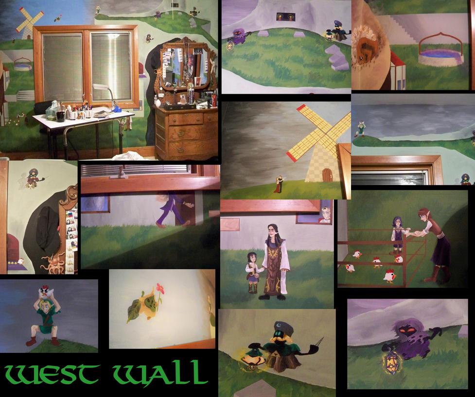 Zelda Walls West Side by Ceil
