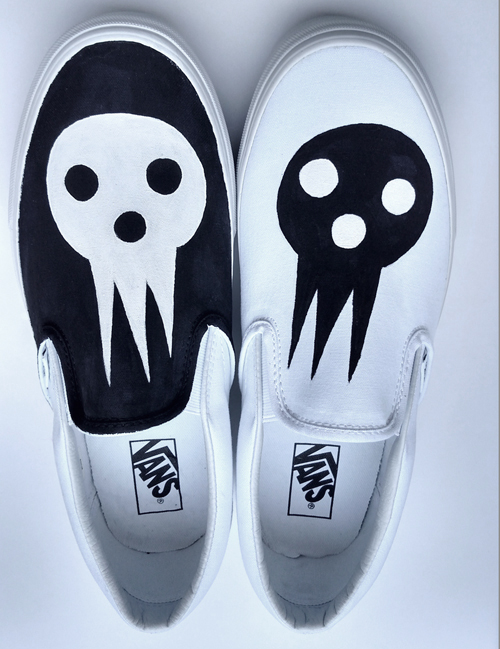 Death The Kid Vans Shoes