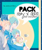 Pack Noiz x Aoba by SaaKuuRiiTha